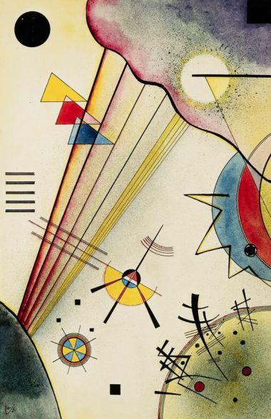 Wassily Kandinsky Distinct Connection 1925