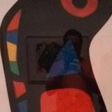 fragmento de uma selfie num miro